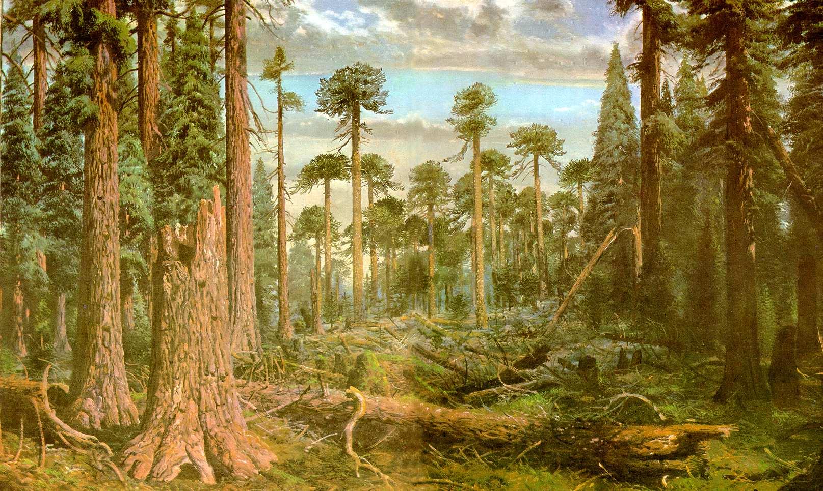 картинка древний мир природа животе